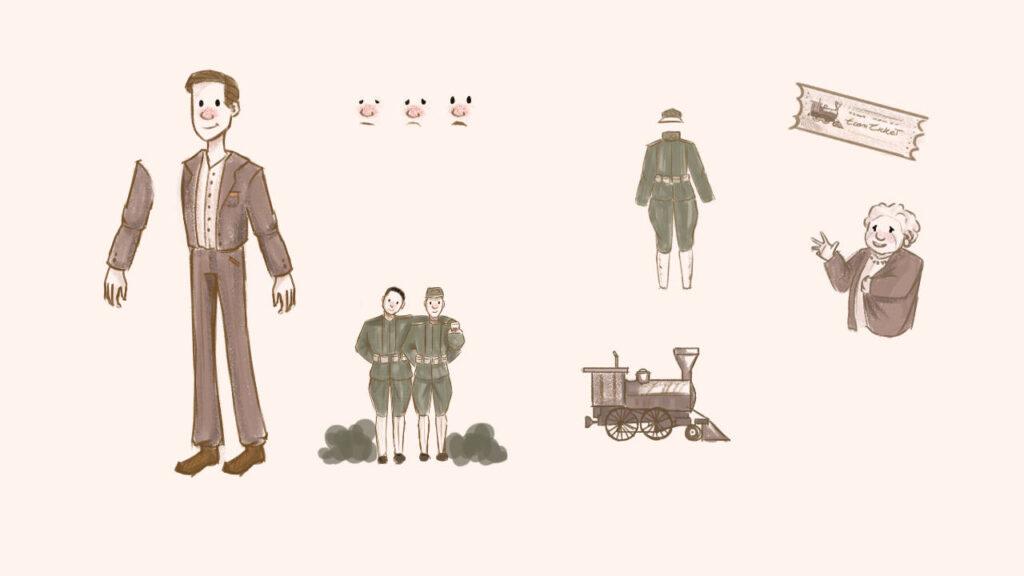 creazione narrativa disegni