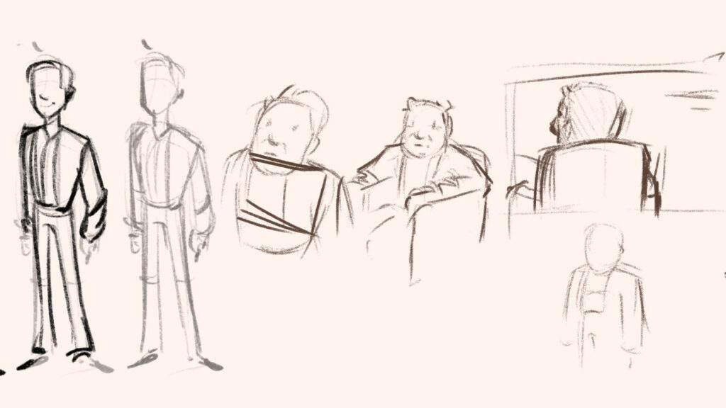 sketch narrativa