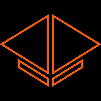 logo sapiens arancione