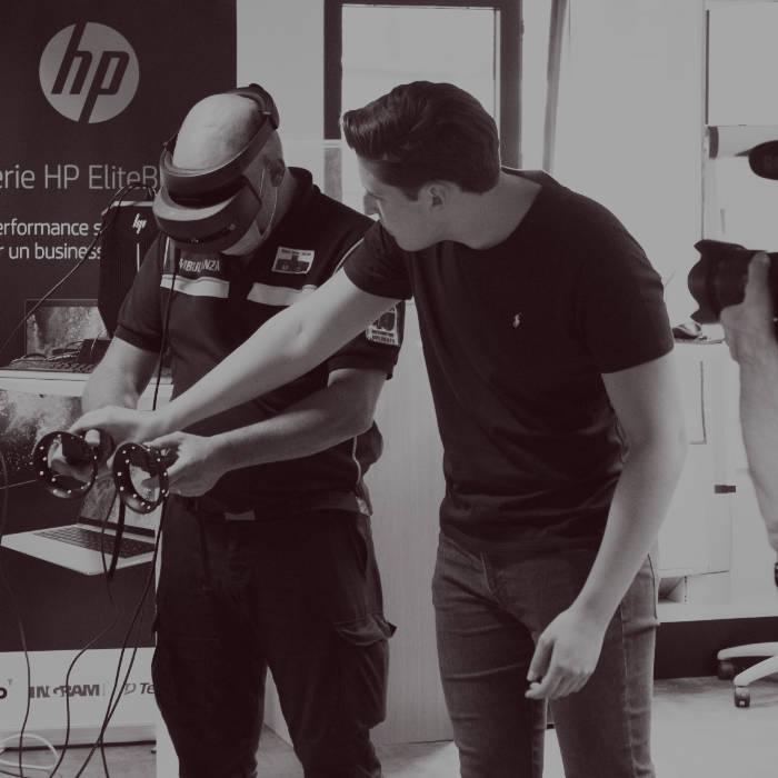 ambulanza training realtà virtuale
