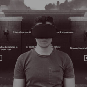 boy uses Virtual Reality Training